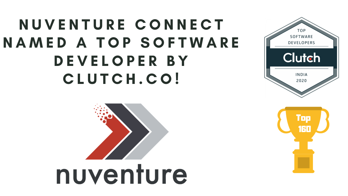Nuventure Connect Named a Top Software Developer by Clutch.co!