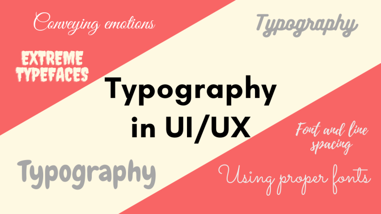Typography in UI/UX