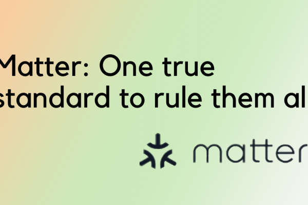 Matter: One true standard to rule them all