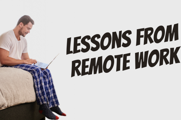 Lesson from a year of remote work